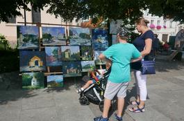 Sztuka na wejherowskim rynku