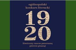 """Konkurs Literacki  z okazji 100-lecia Bitwy Warszawskiej """"1920"""""""