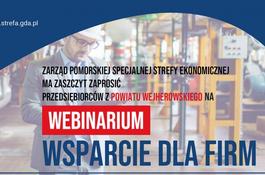 Webinarium 18 marca br. o wsparciu nowych inwestycji