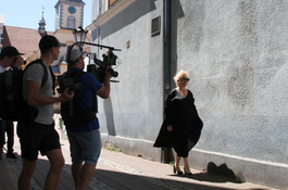 Klip muzyczny z Katarzyną Figurą powstaje w Wejherowie