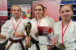 Zawodnicy Karate Klubu Wejherowo z medalami mistrzostw Polski