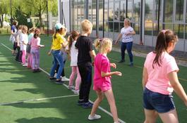 Trwają warsztaty taneczne dla dzieci