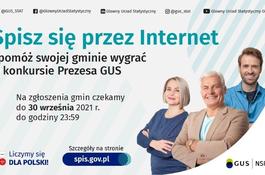 Rozpoczął się konkurs na najbardziej cyfrową gminę Narodowego Spisu Powszechnego Ludności i Mieszkań 2021
