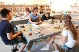 Lato w mieście - warsztaty dla dzieci w WCK