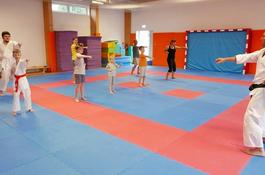 Pierwsze kroki na macie w karate