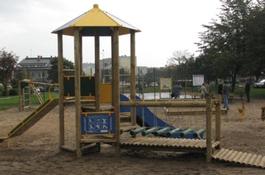 Nowy plac zabaw na Osiedlu Kaszubskim