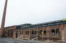 Trwają intensywne prace przy budowie EkoFabryki w Wejherowie