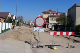 W Wejherowie powstaje kilka kilometrów dróg i chodników