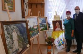 Jan Paweł II inspiracją wystawy obrazów wejherowskich artystów