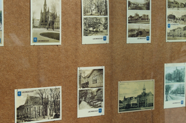 Stare widokówki i pocztówki Wejherowa w Filharmonii Kaszubskiej
