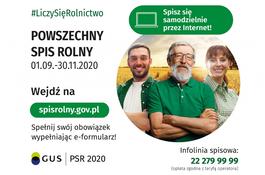 SPIS ROLNY -Informacja o realizowaniu wywiadów bezpośrednich przez rachmistrzów