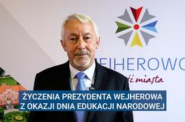 Życzenia Prezydenta Wejherowa z okazji Dnia Edukacji Narodowej