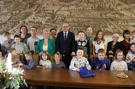 Dzieci Klubu Integracyjnego TAO zwiedziły ratusz