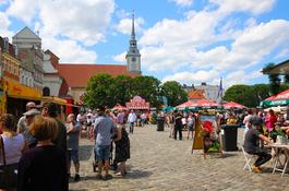 Festiwal Smaków Food Trucków na wejherowskim rynku