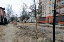 Trwają prace na ulicy Kopernika