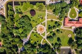 Gra mobilna w wejherowskim parku