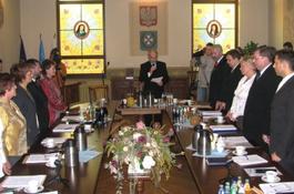 Prezydium Rady Miasta wybrane
