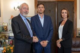 Prezydent Miasta Wejherowa spotkał się z nowym Wójtem Gminy Wejherowo