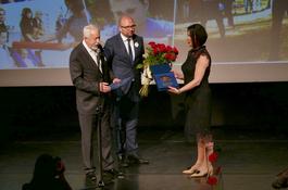 Medal Miasta Wejherowa dla OSW nr 2 dla Niesłyszacych z okazji Jubileuszu 100-lecia