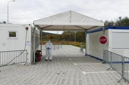 W Wejherowie otwarto mobilny punkt testowania na obecność koronawirusa