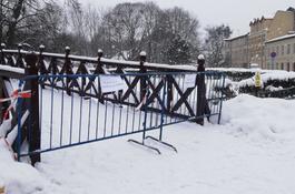 Park Miejski tymczasowo zamknięty