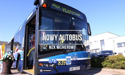 Nowy autobus w taborze MZK Wejherowo