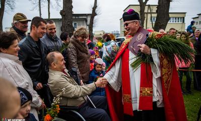 Inscenizacja wjazdu Chrystusa do Jerozolimy Kaszubskiej - 13.04.2014