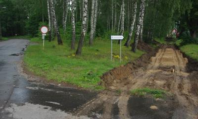 Budowa Turystycznego Szlaku Północnych Kaszub w Wejherowie - 06.07.2012