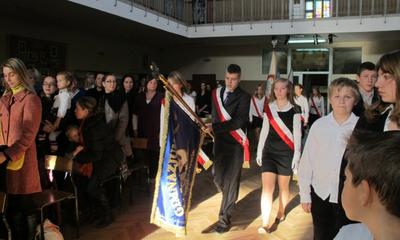 Uroczystość z okazji Święta Niepodległości w SP5 - 10.11.2011