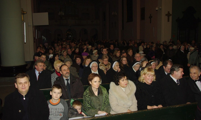 Koncert Bożonarodzeniowy w kolegiacie 13-12-2009
