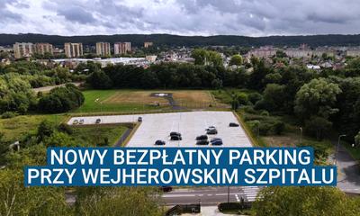Nowy bezpłatny parking przy wejherowskim szpitalu