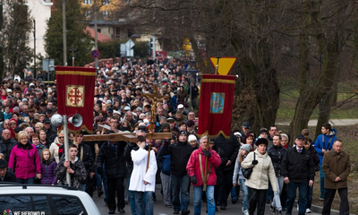 Droga krzyżowa w Wejherowie - 14.03.2014