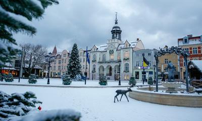 Zima w Wejherowie