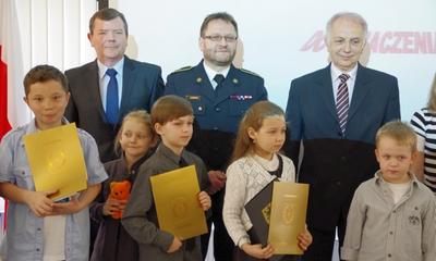 Rozstrzygnięty konkurs strażacki - 26.04.2012