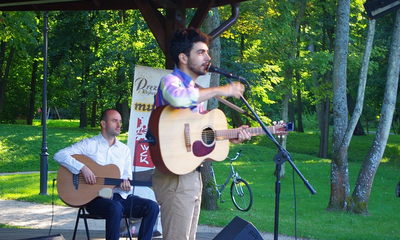 Koncert w parku Joao de Sousa - 25.08.2013