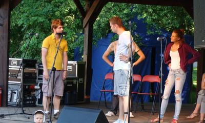 Muzyczne lato w Parku Miejskim - Joanna Kondrat, Kabaret W Gorącej Wodzie Kompani - 01, 08.07.2012