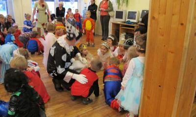 Bal karnawałowy przedszkolaków w Przedszkolu Samorządowym nr 2 im. Kubusia Pucharka-12.01.2011