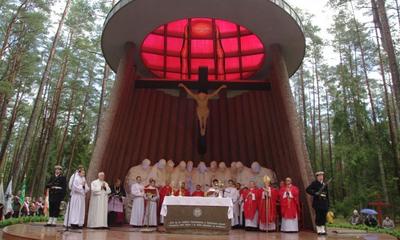Uroczystość w lesie piaśnickim - 07.10.2012