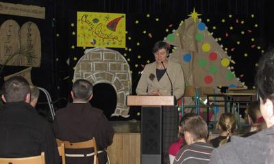 Finał VII Rejonowego Konkursu Biblijnego w ZS nr 1 - 07.01.2011