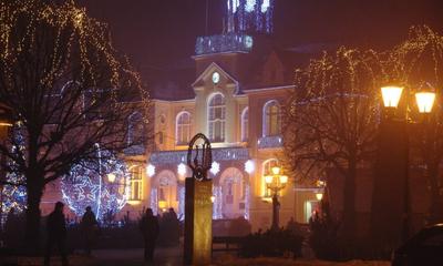 Iluminacje świateczne w Wejherowie - 16.12.2012