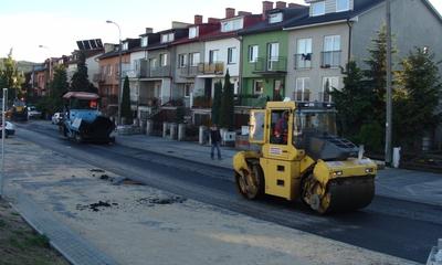 Dobiega końca budowa ulic Morskiej i Konoponickiej - 30.09.2013