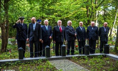 Apel poległych w 75. rocznicę wybuchu II wojny światowej - 01.09.2014