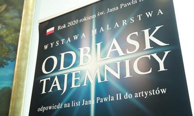 """Wystawa """"Odblask Tajemnicy"""" w WCK"""