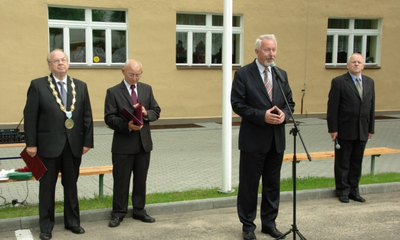 Pierwszy dzwonek w Niepublicznej Szkole Rzemiosł - 03.09.2012