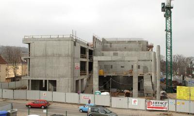 Spacer wokół budowy Filharmonii Kaszubskiej - 22.03.2011