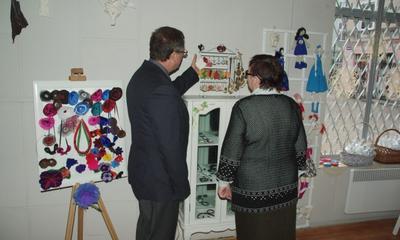 Otwarcie galerii Pracowni Rękodzieła Artystycznego Nespodzianki - 7.11.2012