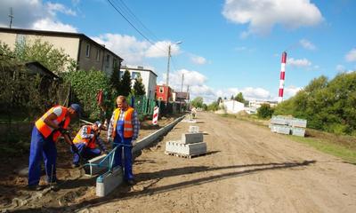 Prace drogowe w ul. Iwaszkiewicza - 30.09.2015