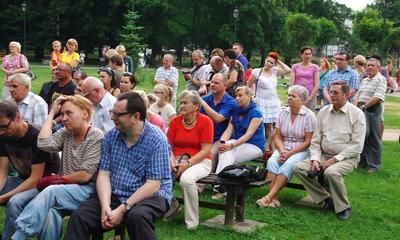 Koncert letni w parku Agnieszki Kostenckiej i Andrzeja Marczyńskiego - 28.07.2013