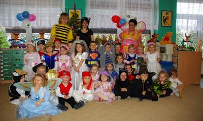 Bal karnawałowy w Przedszkolu Samorządowym nr 2 im. Kubusia Puchatka w Wejherowie - 13.01.2010