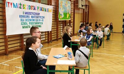 II Międzyszkolny Konkurs Matematyczny